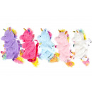 wholesale Backpacks: pluche unicorn backpack, 32cm - 17cm zipper