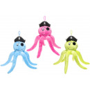 wholesale Dolls &Plush: plush octopus pirate, 28cm