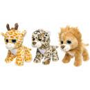 wholesale Dolls &Plush: plush wild animals l, 25cm