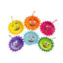 groothandel Speelgoed: pluche grappige zon, 13,5cm Ø13,5cm