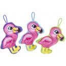 wholesale Dolls &Plush:plush flamingo s, 14cm