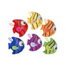 plush colorfull fish, 12cx14cm