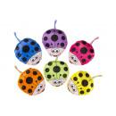 plush ladybug, 13x14cm