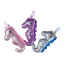 plush glitter seahorse s, 20cm