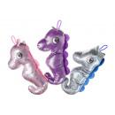 plush glitter seahorse l, 40cm