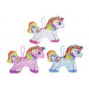 wholesale Dolls &Plush: plush rainbow unicorn xs, 13,5x10cm