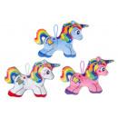 plush rainbow unicorn s, 20,5x15cm