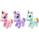 plush rainbow unicorn, 22cm