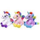 wholesale Dolls &Plush: plush rainbow unicorn, 19cm