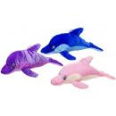 plush dolphin l colored, 50cm