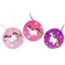 plush unicorn xs, 10cm Ø10cm