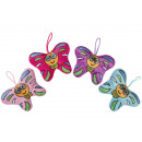 wholesale Toys:plush butterfly, 13cm