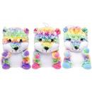 wholesale Dolls &Plush: plush rainbow hamster, 23cm