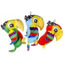 plush pirate parrot, 25cm