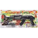 Großhandel Babyspielzeug: Rasselpistole, Blisterkarte, 38x18,5cm