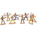 wild west indian pph, 8 times assorted , 6,5cm