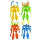 robot colorido pp, 13cm de alto