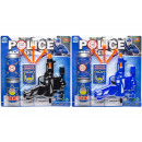 police play set with cans, 27x28cm