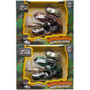 dino shooter with 2 cars, 23x18,5x9cm