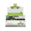 Großhandel Spielwaren: die cast Traktor + Anhänger, Fensterbox, ...