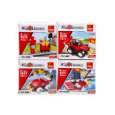 build blocks fire, 7x7x4,5cm