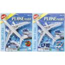 wholesale Models & Vehicles: airplane set, blister card, 21x25x3,5cm