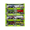 farm tractor with accessories, 52x15,5x11cm