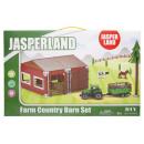 wholesale Models & Vehicles: farm county barn set box, 29x45x5,5cm