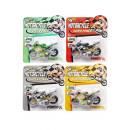 wholesale Models & Vehicles: moto, blister card, 14x15,5x3,5cm
