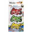 Set of 3 moto box, 14x26,5x5cm - h 4cm