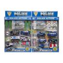 Großhandel Modelle & Fahrzeuge: diecast Polizei-Set -4-, 2 fach sortiert 32,5 ...
