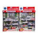 diecast ambulance set -4-, 2 times assorted , 32,5