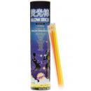 glowsticks tube 100 pieces, tube 27,5x6,5cm