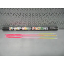 glow necklace 3 colored tube, 50 pieces, tube 68,5