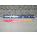 glow necklace 3 colored tube, 100 pieces, tube 68,