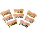 mayorista Jardin y Bricolage:dientes grillz pp, 7cm