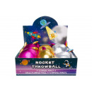 plush rocket ball space, 13x8,5cm