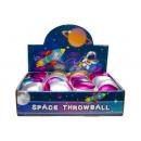 plush metallic throw ball, 6,5x6cm Ø6cm