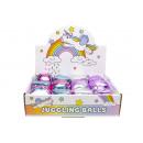 palla da giocoliere con chicchi, 5,5x6,5cm