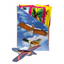 wholesale Garden Decoration & Illumination: flying glider bird, bag 24x9cm