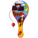 wholesale Balls & Rackets: paddle with ball pirate pp, 12,5cm