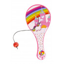 wholesale Balls & Rackets: paddle with ball unicorn pp, 12,5cm