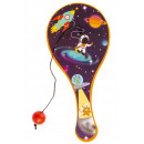 paddle with ball space pp, 12,5cm