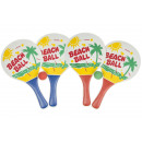 grossiste Sports & Loisirs: raquette de beachball Lot de 2 avec ballon, 34cm -