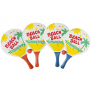 wholesale Balls & Rackets: beachball racket Set of 2 with ball l, 38cm - 0,5c