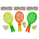 tennis set ball + shuttle vbh, 35x15cm