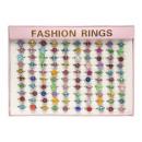 wholesale Jewelry & Watches: glitter rings, 28x3,5x20 Ø1,5cm