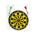Großhandel Gesellschaftsspiele: Dartspiel 22,5 cm, Blisterkarte, 22,5 cm Ø 22,5 cm