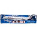 airliner blue box, 44x15x12cm