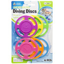 diving game rings, blister card, ring 10cm Ø10cm